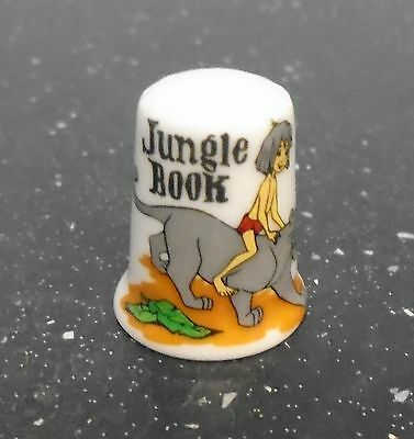 Jungle Book Thimble - COLLECTABLE - Disney - FREE POSTAGE