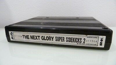 Super Sidekicks 3 Neo Geo MVS SNK Cart