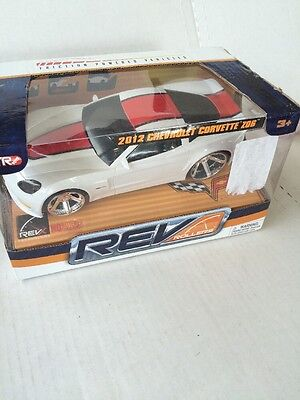 Friction Powered Toy Car 2012 Corvette