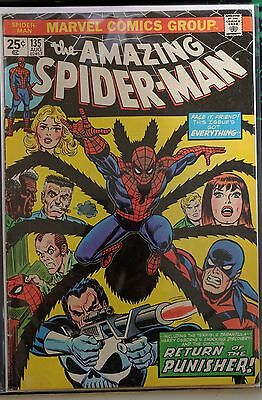 The Amazing Spider-Man #135 2nd app. Punisher Key Issue!
