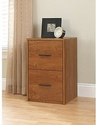New Filing Cabinet File Storage 2 Drawer Wood Vertical in Black by Ameriwood