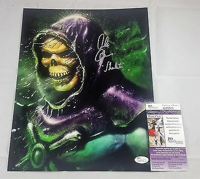 Alan Oppenheimer SIGNED 11x14 Photo Autograph SKELETOR JSA COA MOTU 1 HE-MAN