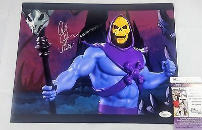 Alan Oppenheimer SIGNED 11x14 Photo Autograph SKELETOR JSA COA MOTU 2 HE-MAN