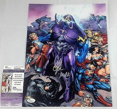 Alan Oppenheimer SIGNED 11x14 Photo Autograph SKELETOR JSA COA MOTU 3 HE-MAN