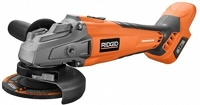 RIDGID Brushless Angle Grinder Cordless 18-Volt Lithium-Ion (Tool Only) New