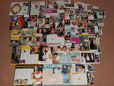 84- SYLVESTER STALLONE Magazine Clippings