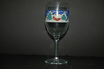 Tienshan Cabin in the Snow Glass Wine Goblet