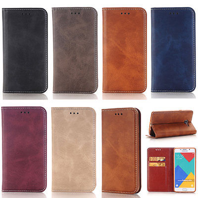 Magnetic Wallet Card Leather Flip Tpu Case Cover Stand For Samsung Galaxy Models