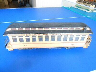 Bachmann G Scale Big Haulers South Pacific Coast Observation Car