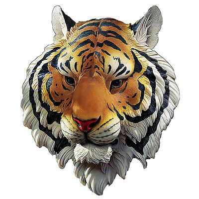 Tiger Head from Indochina Wall Sculpture Trophy Display