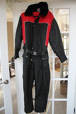 JCPenny Snowmobile Apparel Mens Medium Snowmobile Snow Suit
