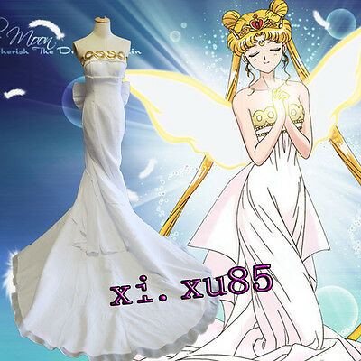Newest Sailor Moon Usagi Tsukino Cosplay Costume Ball Gown Customize Custo Made