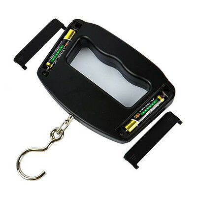 Portable LCD Digital Hanging Luggage Fishing Weighing Hook Scale WHA09 50kg/10g