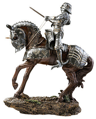 English Knight Sculpture Statue Reproduction