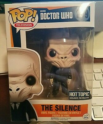 funko pop doctor who the silence
