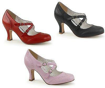 ba14dcc8245 PIN UP COUTURE FLAPPER-11 Mary Jane Pump -  69.19