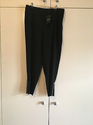 Country Road Ladies Black Pant Size 16 New With Tags!