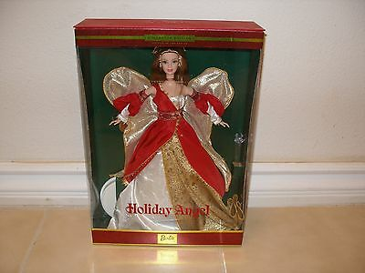 2000 Holiday Angel Barbie Doll Second In The Series Collector Edition