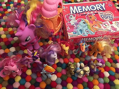 My Little Pony Ponies plus carriage plus memory game