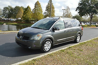 2005 Nissan Quest S 2005 NISSAN QUEST S LOW MILES HIGH BID WINS 15 YEARS ON EBAY WE SHIP CALL NOW