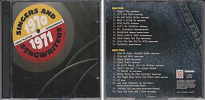 Singers & Songwriters 1970-1971 Various Artists TIME LIFE 2 CD Set Richie Havens