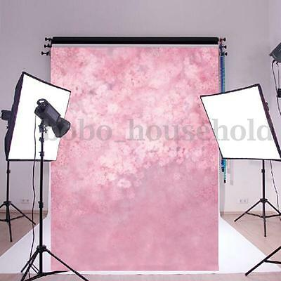 5x7ft Pink Children Baby Photography Backdrop Photo Background Studio Props Wall