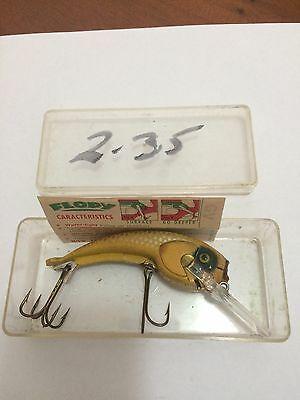 Vintage Large NOS Floppy Fishing Lure In Original Box With Instructions.
