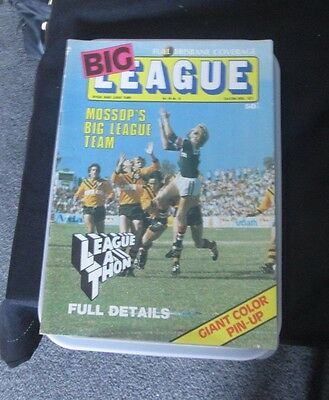 1977 Big League Magazine  With Pin Up