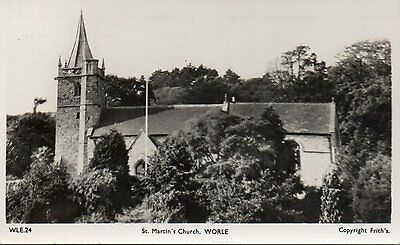 RP WLE.24 St. Martin's Church, WORLE. Copyright Frith's. 1951. NORTH SOMERSET.