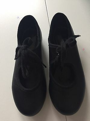 Girls tap shoes size 10 Black