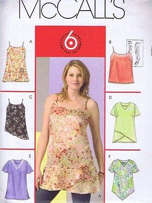 McCalls Top Sewing Pattern 4879 Ladies Tops Blouse  Camisole Size 18 20 22 24 W