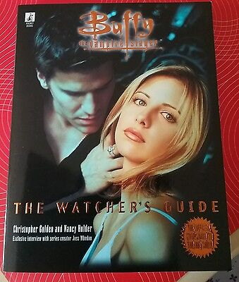 Buffy the vampire slayer the Watcher's Guide book 1, the official companion, new