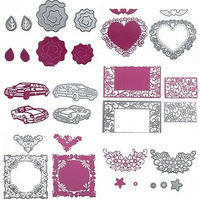 Metal Cutting Dies Stencil DIY Scrapbooking Embossing Paper Card