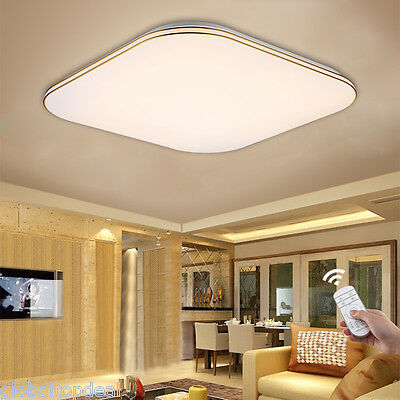 Modern 36W LED Ceiling Down Light Recessed Wall Bathroom Fitting Lamp Dimmable
