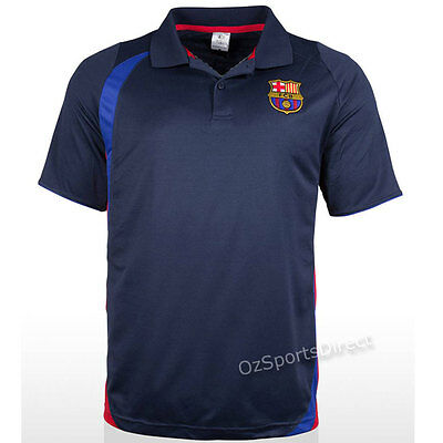 Barcelona FC 2015 Supporter Polo Shirt Size LARGE