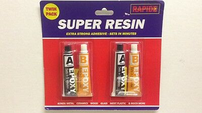Two Part Epoxy Resin Glue 2 Part Glue Super Strong Extra Tough Diy Home Offer