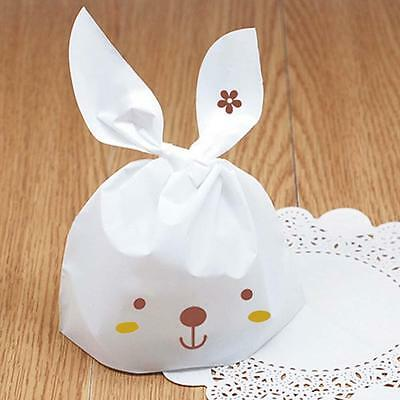 Fashion 50Pcs Kawaii Rabbit Plastic Style Bags Birthday Items Candy Bags Party /