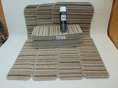 Stair pads / treads 22 off and 3 Big Mats with a FREE can of SPRAY GLUE 2027
