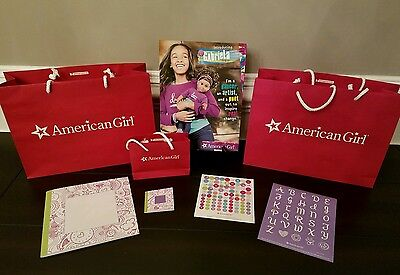 American Girl Lot 4 Gabriela McBride Ritz Hotel Pkg Girl & Doll Craft Notebooks