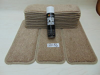 Carpet / Stair pads 50 cm Wide 14 off  and  with a FREE  can of SPRAY GLUE 2016