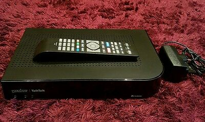 Talktalk Youview DN370 HDTV Recorder and Catch Up Box NETFLIX *new style remote*