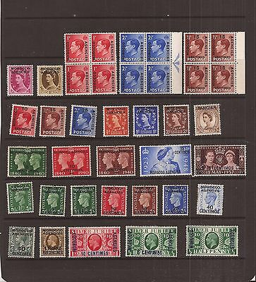 Morocco Agencies 38 Stamps Mh