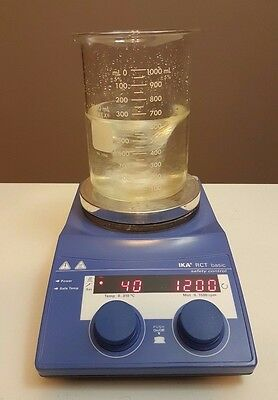 IKA RCT Basic Hot Plate Magnetic Stirrer Stirring Safety Control