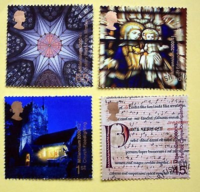 GB Stamps Sprit and Faith(2000 7 Nov)