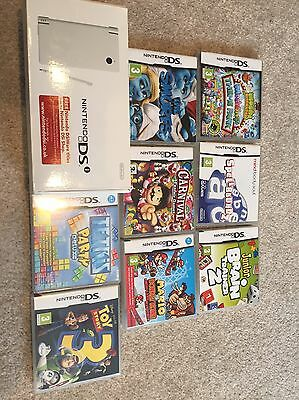 Nintendo DSi (pink) With Original Box And 10 Games