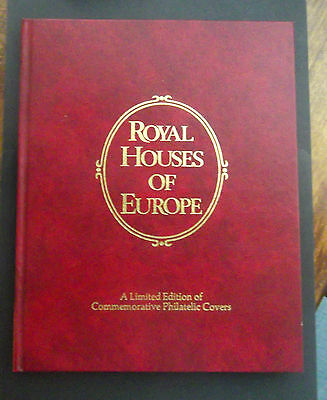 Royal Houses of Europe Issued 1978 Lot of 10 Philatelic Covers in Book MINT Cond