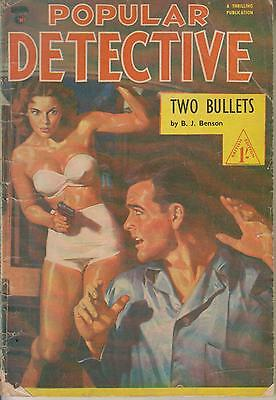 Popular Detective    No 8  British Edition Of An American Publication