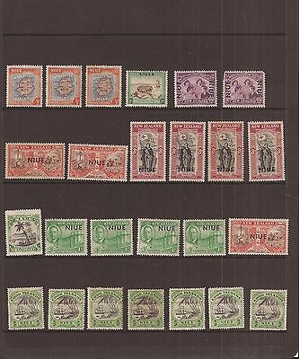 Niue 25  Stamps Mh