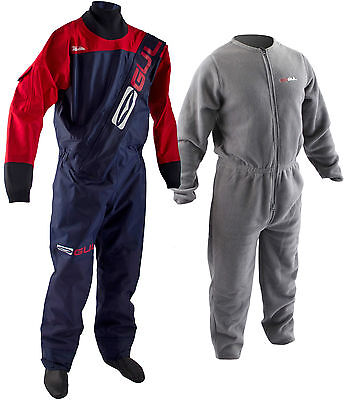 NEW GUL GAMMA DRYSUIT with FREE UNDERSUIT WINTER DRY SUIT ALL SIZES