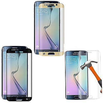 3D Full Coverage Tempered Glass Screen Protector for Samsung Galaxy S6 Edge